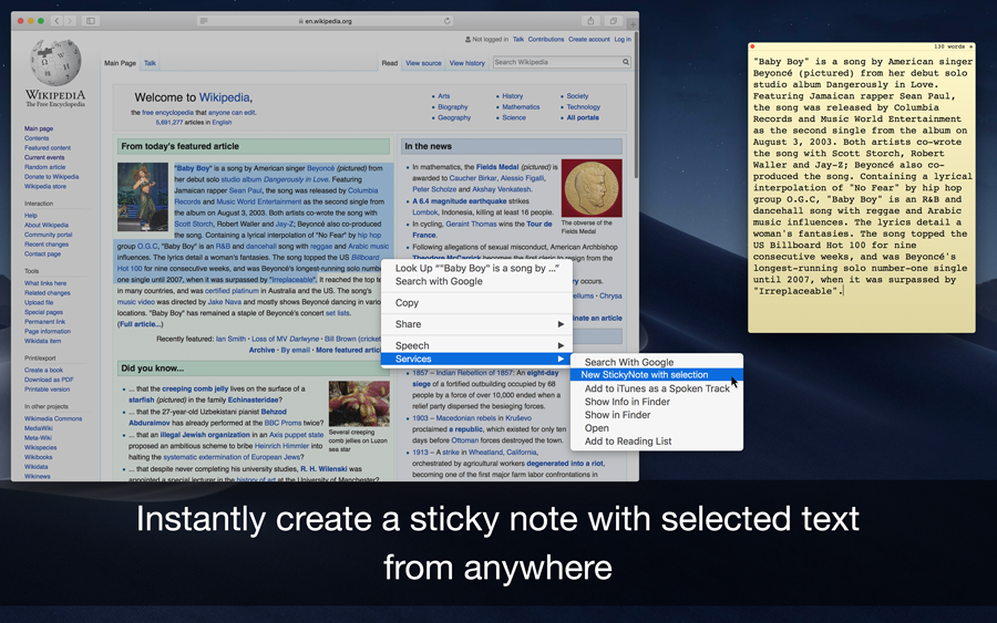Sticky Notes 1.8 Mac 破解版 便签式笔记软件